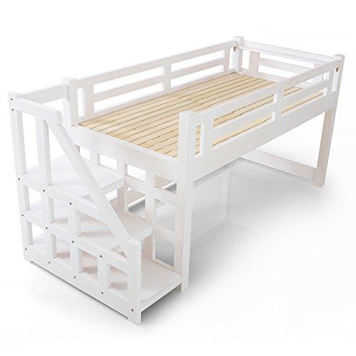 ベガコーポレーション LOWYA ロフトベッド 木製ベッド B01M5LI5WK 1枚目