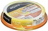 SONY データ用CD-R 1-48倍速 10枚パック 10CDQ80GPWP
