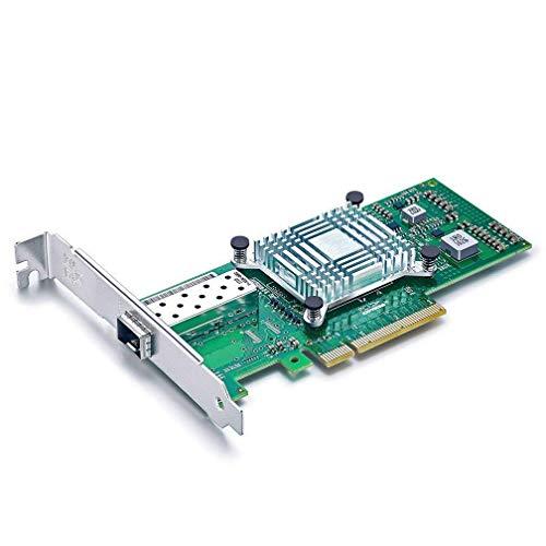 10Gtek Intel X520-DA1互換 82599ES オリジナルチップ実装, シングル SFP+ポート,PCIE2.0 X 8, 10GbE コン...