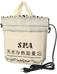 Plug Heater Bag Spa Stones Warmer Bag for Massage Stones Massage Salon SPA Lava Natural Energy Massage Stone