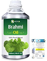 Brahmi (bacopa monniera) 100% Natural Pure Oil 5000ml/169fl.oz.
