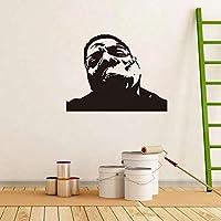 Onlymygod装飾ウォールステッカーウォールステッカー男アバターステッカーリビングルーム寝室装飾ウォールステッカー彫刻53×46センチ