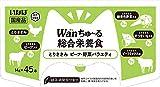 【Amazon.co.jp限定】 いなばペットフード ドッグフード Wan ちゅ~る 総合栄養食 45本 とりささみ ビーフ・野菜バラエティ