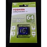 TOSHIBA MU-C064GX micro SDHC 64GB UHS-I Class