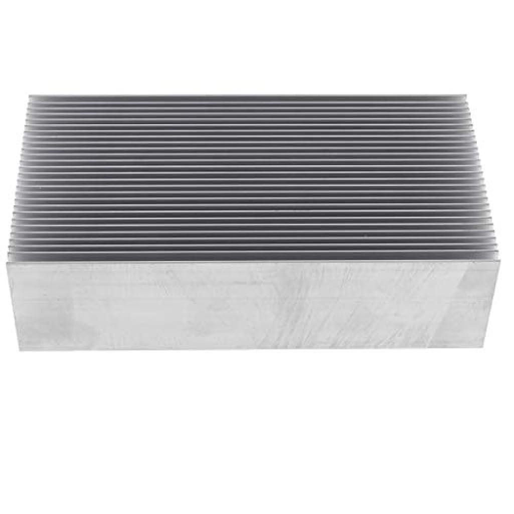 で料理にぎやかヒートシンク (130×69×36mm) 冷却フィン アルミ 放熱板 コンピュータCPU パワーアンプ対応