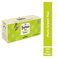 Typhoo Pure Green Tea Natural, 100 Tea Bags