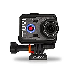 Veho K-Series K2S (スポーツエディション) Muvi Full-HD 1080p ワイヤレス Wi-Fi ウェアラブルカメラ アクションカム 動画/静止画 撮影 スポーツ アクションカメラ HDビデオカメラ Timelapse タイムラプス機能付き (K2S)