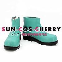 【サイズ選択可】コスプレ靴 ブーツ K-2121 アリス・イン・ワンダーランド Alice in Wonderland アブソレム 擬人化 男性26.5CM