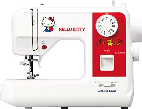 JAGUAR(ジャガー) 電子ミシン 【かわいいハローキティデザイン】 SAN2013KT
