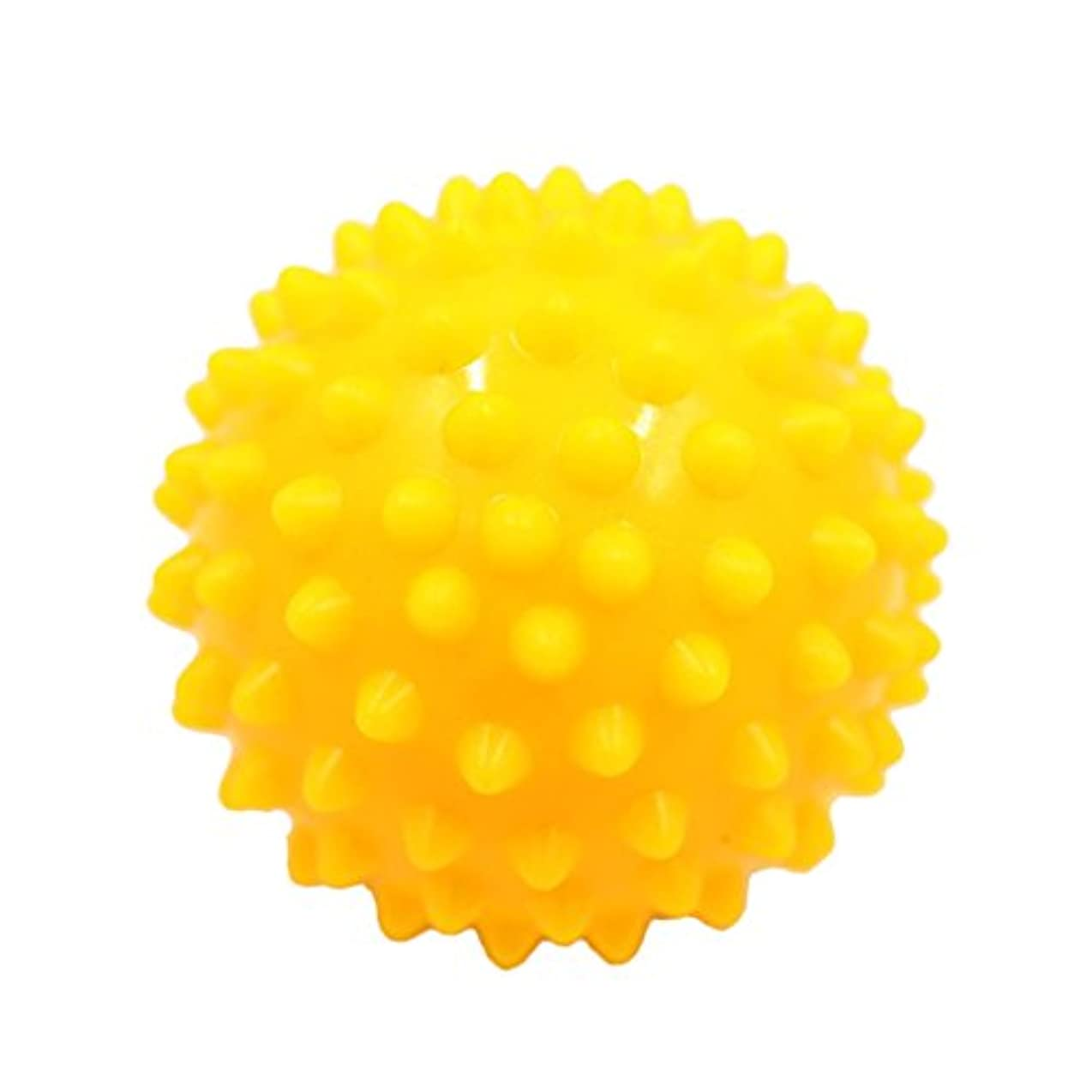 大使理容室微視的Baosity マッサージボール マッサージ器 ボディ  スパイク マッサージ 刺激ボール 3色選べ - 黄