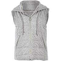 Bird Keepers Womens Vests The Luxe Puffer Vest GreyMarle - Coats