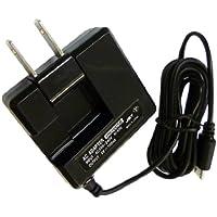 ホワイトナッツ GS02 平型コンパクト スマホ 充電器 microUSB ACアダプター