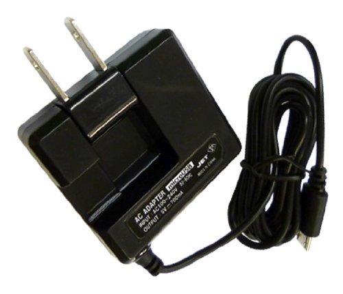 ホワイトナッツ DIGNO C 404KC 平型コンパクト スマホ 充電器 microUSB ACアダプター