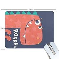 マウスパッド ゲーミング オフィス 恐竜 Roarrr 防水 滑り止めゴム底 耐久性が良い 高級感 おしゃれ 疲労低減 自由な操作できる 厚い 25x19x0.5 cm