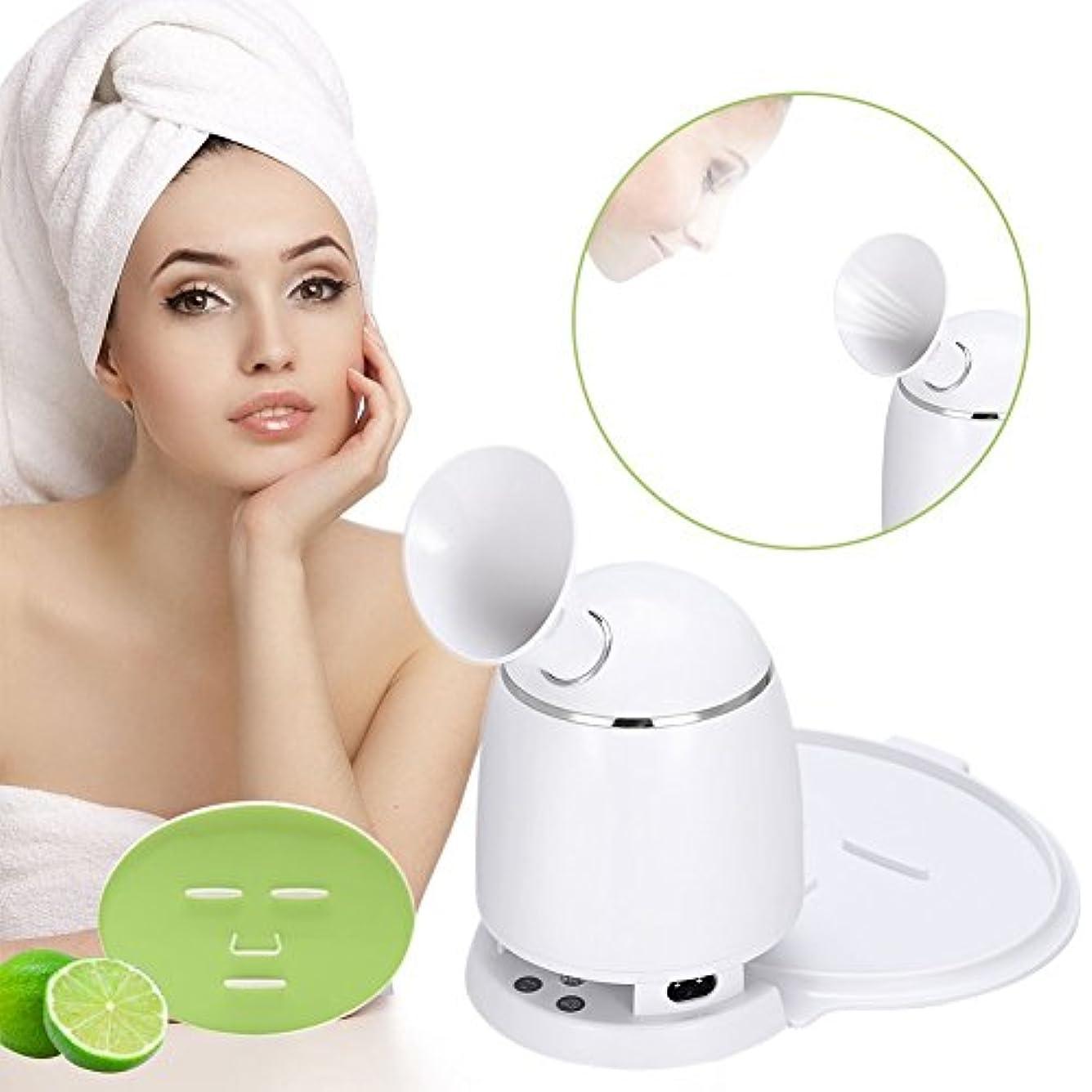 年次安息すき女性用家庭用スチーマーフェイシャルマスクDIY用自動マスク機(私たち)