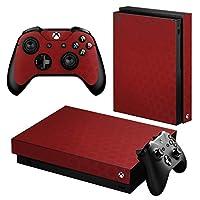 igsticker Xbox One X 専用 スキンシール 正面・天面・底面・コントローラー 全面セット エックスボックス シール 保護 フィルム ステッカー 002040