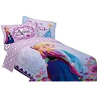 「アナと雪の女王」 ツインベッドのコンフォーター(掛け布団)