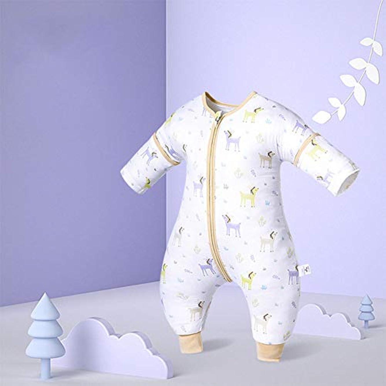 大通り大型トラックカバレッジ赤ちゃんの睡眠袋、四季の綿の睡眠袋、軽量キック証明掛け布団子供のための,紫色,L