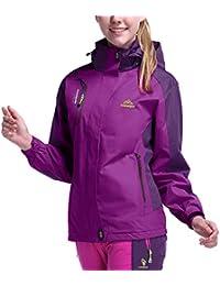 [MAGCOMSEN] レディース アウトドア マウンテンパーカー 多機能登山服 防寒ウエア 防風ジャケット 通気 バイク用 ジョギング 釣り