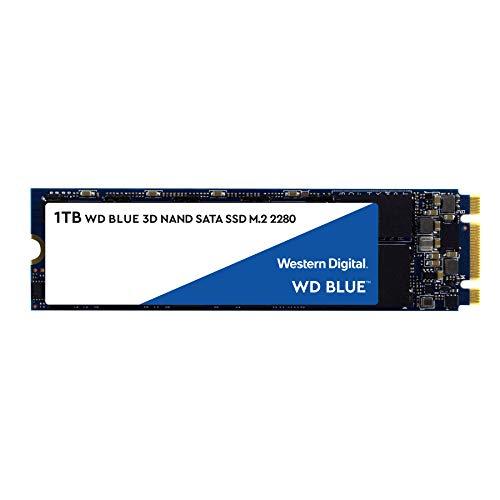 【国内正規代理店品】Western Digital WD Blue 内蔵SSD M.2-2280 3D NAND 採用 1TB SATA 3.0 5年保証 WDS100T2B0B-EC