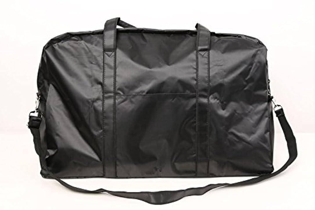危険一般的なアグネスグレイカットウィッグ用バッグ 大容量 軽量 ナイロンバッグ ブラック XRDB-1