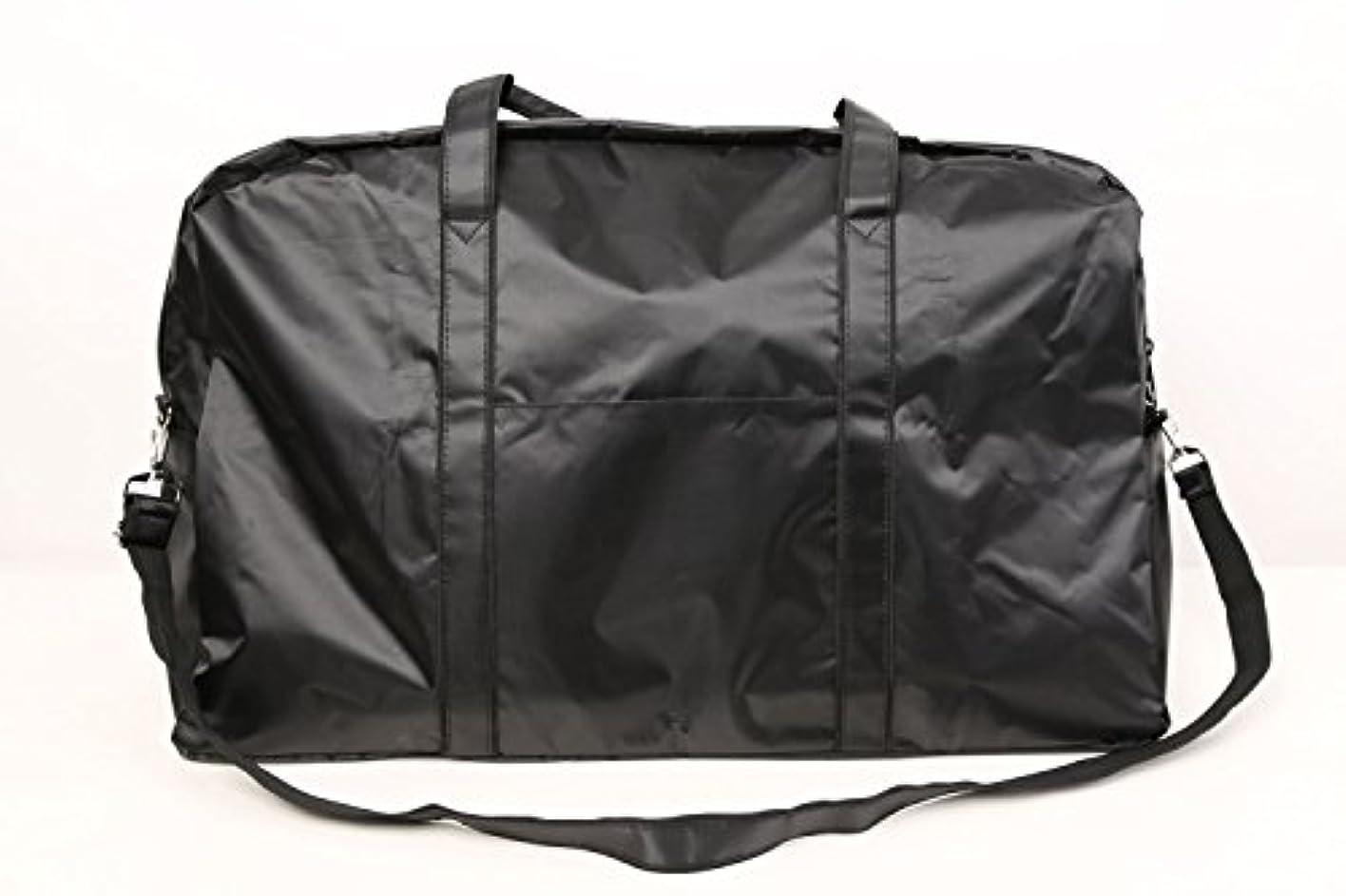 最愛の払い戻し破裂カットウィッグ用バッグ 大容量 軽量 ナイロンバッグ ブラック XRDB-1