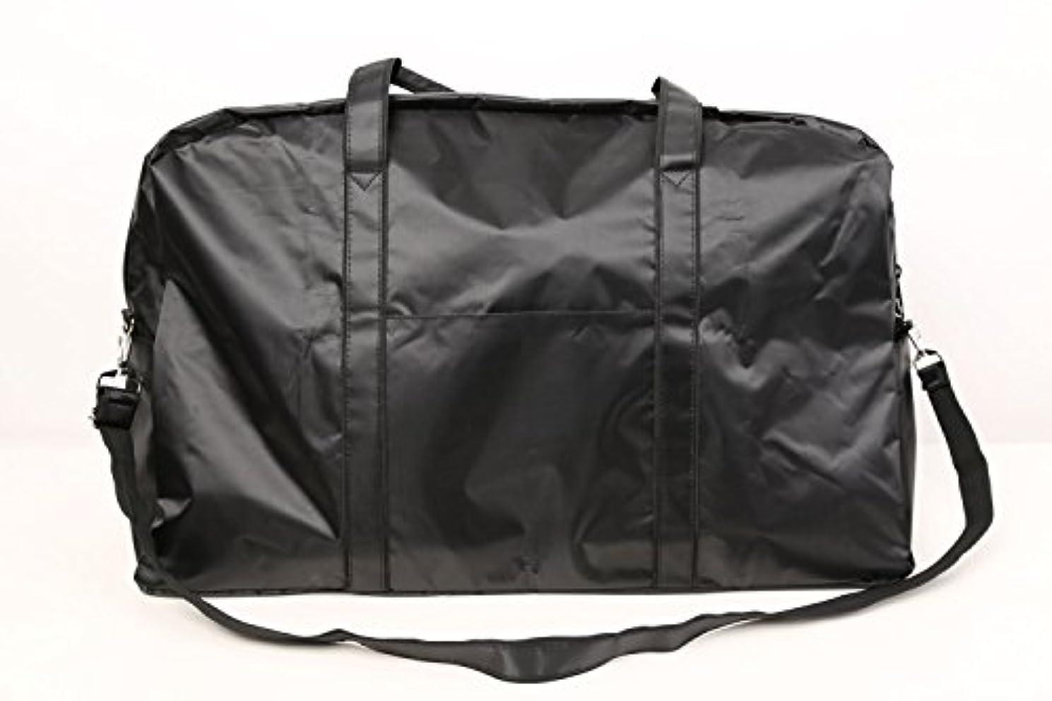 ターミナルミニチュア旋回カットウィッグ用バッグ 大容量 軽量 ナイロンバッグ ブラック XRDB-1
