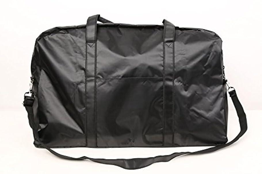 市区町村人道的信号カットウィッグ用バッグ 大容量 軽量 ナイロンバッグ ブラック XRDB-1