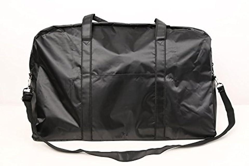 ジョリー愛情深いポイントカットウィッグ用バッグ 大容量 軽量 ナイロンバッグ ブラック XRDB-1
