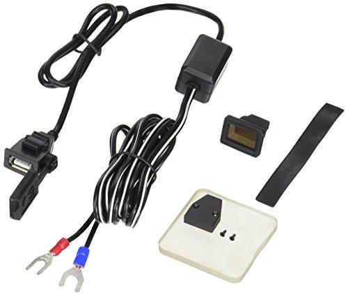 バイク用電源 USBステーション2 USB端子1口タイプ MAX2.1A×1 NS-004