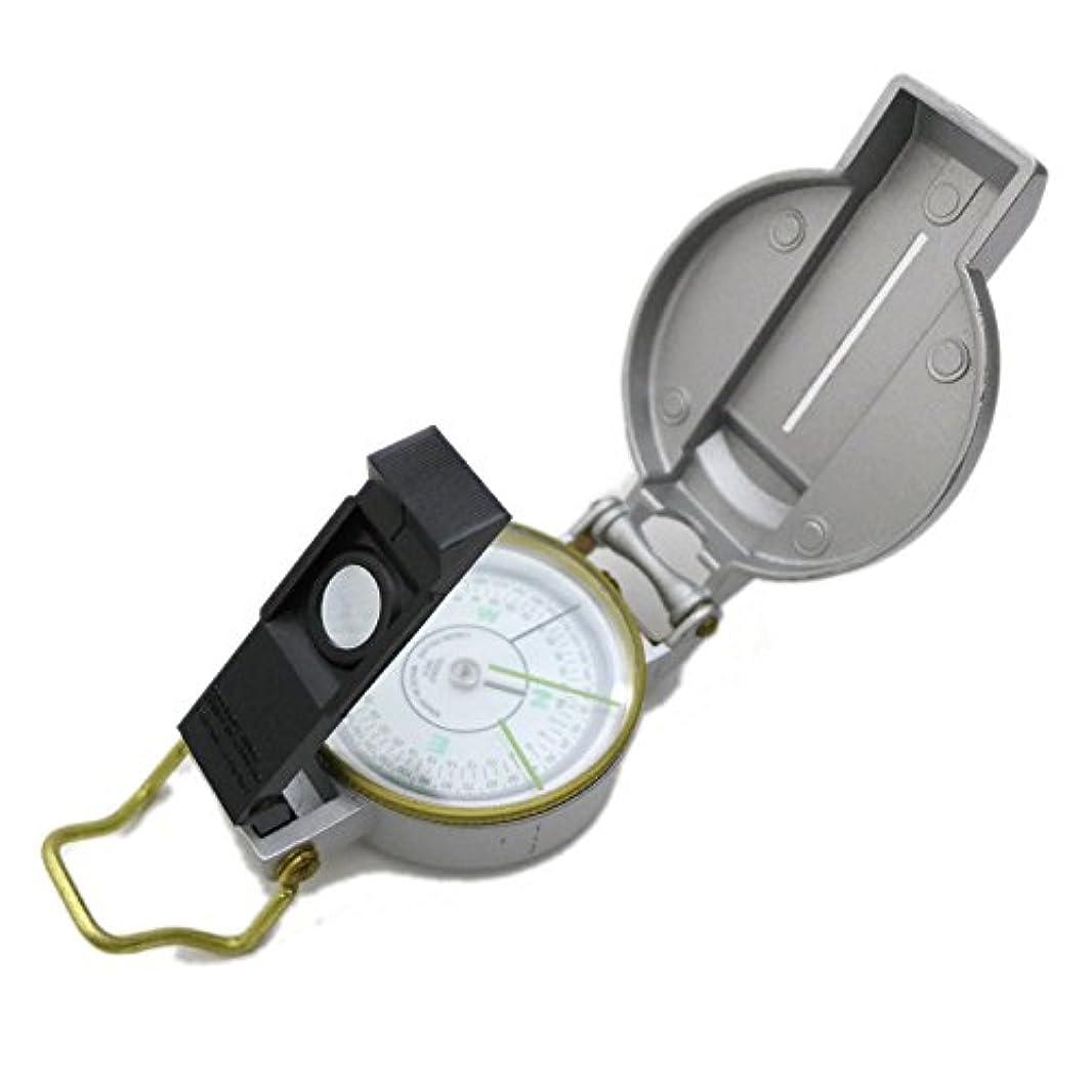 マイナーためにさておきYCM|レンザティックコンパス 3800S|シルバー|アルミダイキャスト|高性能|方位磁石