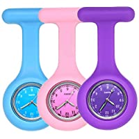 Nurse Watch,Nursing Watch,Nurse Watches for Women,Nurse Fob Watch with Second Hand,Clip on Nursing Watch