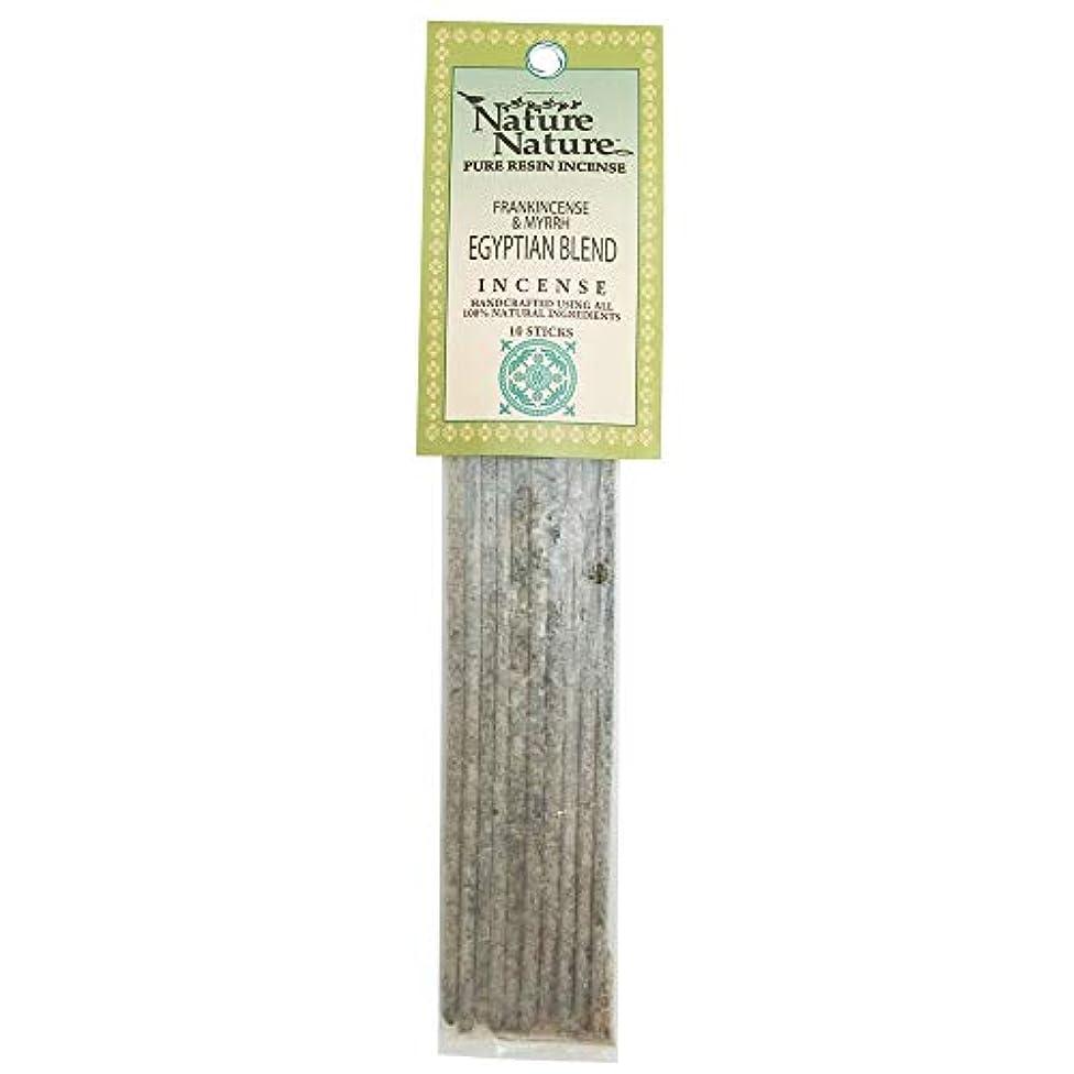 危険にさらされている独立微生物Nature Nature Pure Resin Frank/Myrrh Egyptian Blend インセンス