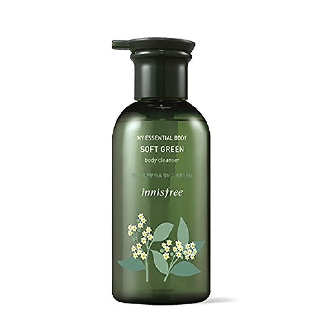 再編成する階層マラウイイニスフリーマイエッセンシャルボディソフトグリーンボディクレンザー330ml / Innisfree My Essential Body Soft Green Body Cleanser 330ml [並行輸入品][海外直送品]