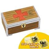 オリジナルオルゴール作り アートオルゴール箱A クリヤーオルゴール+木箱セット 曲名: きみをのせて<天空の城ラピュタ(358-781)>
