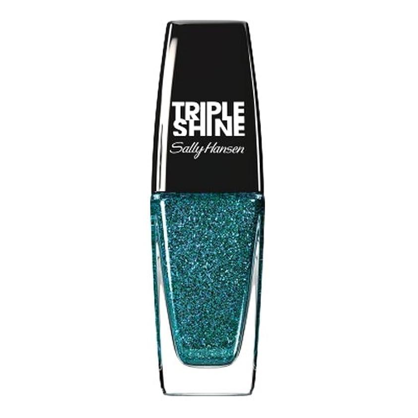 疑い渇き整然としたSALLY HANSEN Triple Shine Nail Polish - Sparkling Water (並行輸入品)