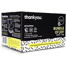 Thankyou Baby Nappies, Bundle of Joy, Infant 4-8kg (96 Nappies)