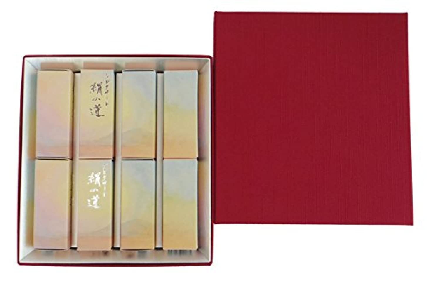 女性授業料精神丸叶むらたのお香 ハーフ寸ギフト シルクロード絹の道 8サック入 #SK-10