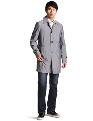 Coolmax Oxford Balmacaan Coat 3125-136-0219: Grey
