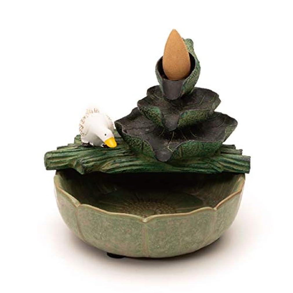成熟暗黙卵ホームアロマバーナー ビリアン香逆流香バーナー家庭用煙香挿入された室内装飾アロマテラピー炉 アロマバーナー (PATTERN : B)