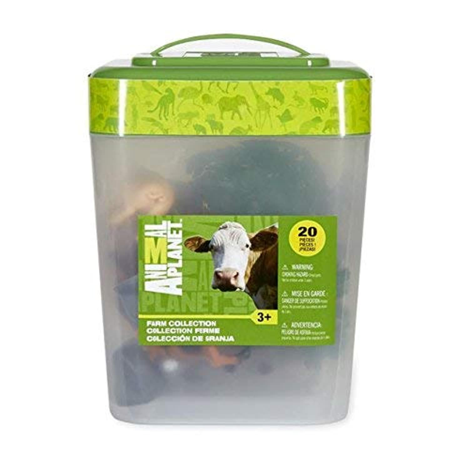 Animal Planet Farm Bucket Collection - 20 Piece