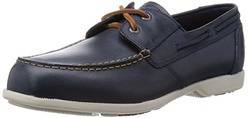 [ロックポート] ROCKPORT Summer Sea 2-Eye A13808 NAVY(ネイビー/USA 7)