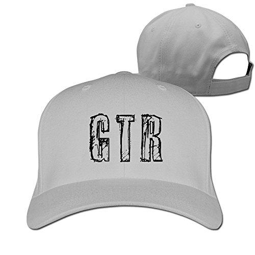 ティナ GTR スポーツ 野球 サッカー 平らつば 野球帽 野球ゲームキャップ カジュアル スポーツ 男女兼用 調節可能 Ash
