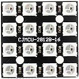 Calloy WS2812B 4*4 16-ビット フル カラー LED モジュール 5V PCB Arduinoに対応