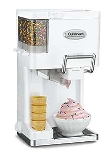 クイジナート ソフトクリームメーカー Cuisinart Ice-45 Mix Ice Cream Maker (ホワイト) 並行輸入品
