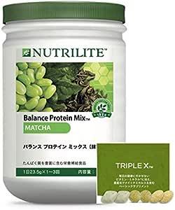 [公式ストア 正規流通品限定:トリプルXサンプルパック付] ニュートリライト バランス プロテイン ミックス(抹茶)