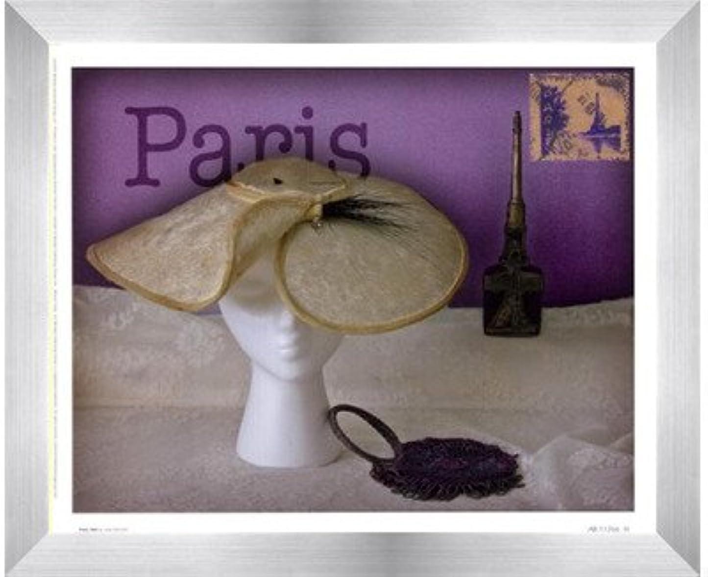 演じる熱意どこでもパリ帽子by Judy Mandolf – 11 x 9インチ – アートプリントポスター LE_40509-F9935-11x9