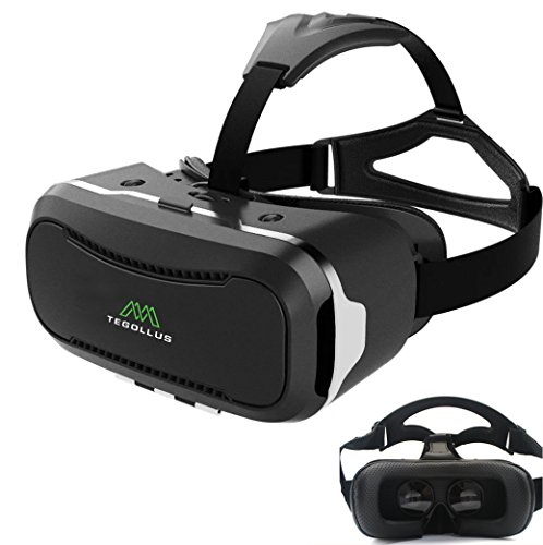 TEGOLLUS VRメガネ 3Dゴーグル 超3d映像効果 仮...