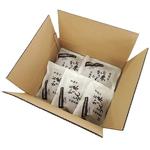 雪国あられ 雪国のお米かりんとう 沖縄黒糖味 1ケース 20個入