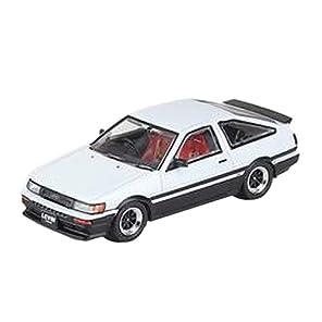 Inno Models 1/64 トヨタ カローラ レビン AE86 ホワイト/ブラック 完成品